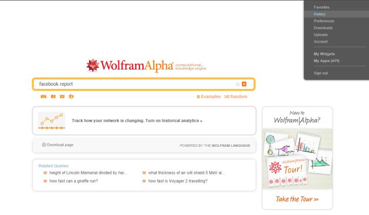 wolframalpha 4